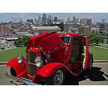 1932 Ford Coupe - Kansas City Photographic Print