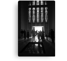 Shadows in the Tomb Canvas Print