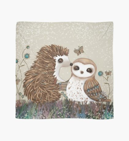 Owl and Hedgehog Scarf