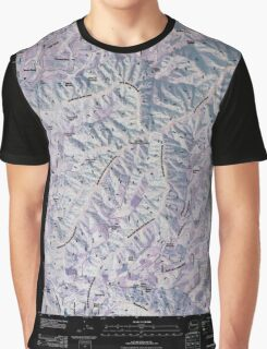 USGS Topo Map Washington State WA Pinkham Butte 20110421 TM Inverted Graphic T-Shirt