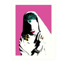 Samia Art Print