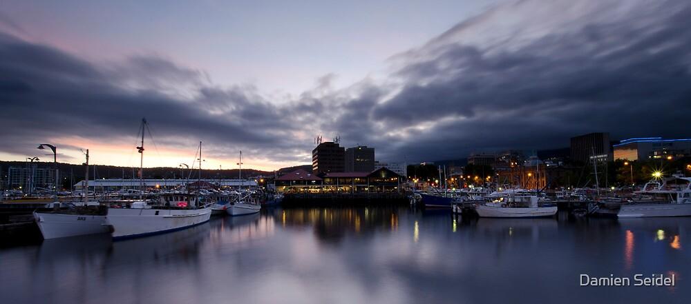 Constitution Dock - Hobart by Damien Seidel