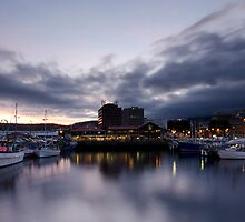 Constitution Dock - Hobart by Damien Seidel