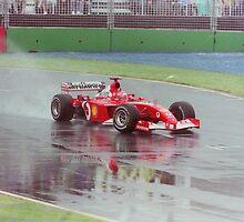 Sideways at Melbourne Grand Prix by SimonSaysSmile
