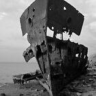 HMQS Gayundah Wreck B&W by StupidBeagle