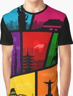 Cities of the World Graphic T-Shirt