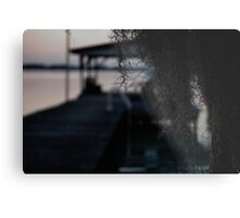 Motel Guests Only Metal Print