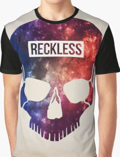 Reckless Skull Graphic T-Shirt