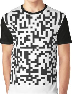 QR Code Quote - Technology Has Exceeded Our Humanity Graphic T-Shirt