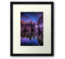 Twilight Sneak Framed Print