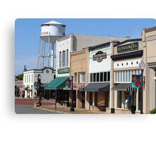 Historic Downtown Henderson, Texas Canvas Print
