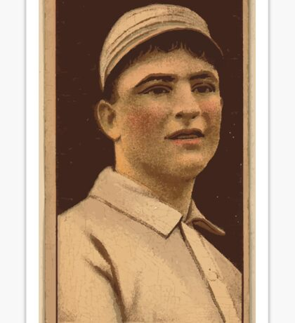 Benjamin K Edwards Collection Dave Danforth Philadelphia Athletics baseball card portrait Sticker