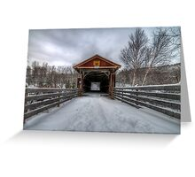 Fitch Bay Covered Bridge Greeting Card
