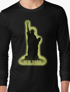 New York Vintage T-Shirt Long Sleeve T-Shirt