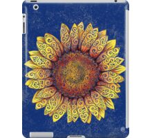 Swirly Sunflower iPad Case/Skin