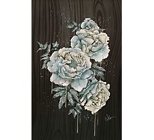 Peony wood Photographic Print