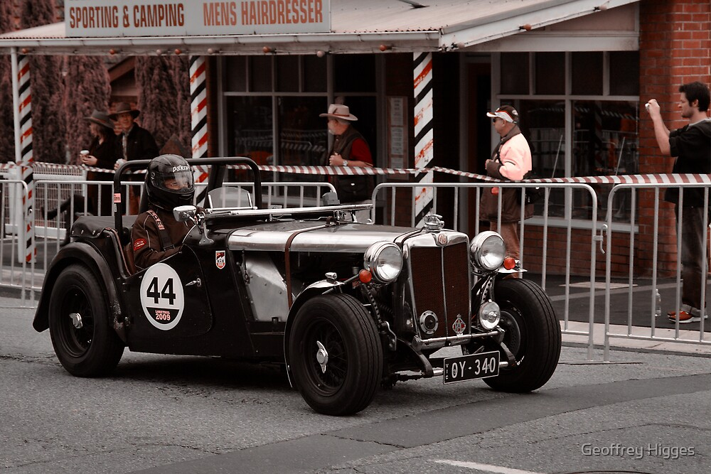 MG TC Holden Special 1947 by Geoffrey Higges