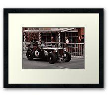 MG TC Holden Special 1947 Framed Print