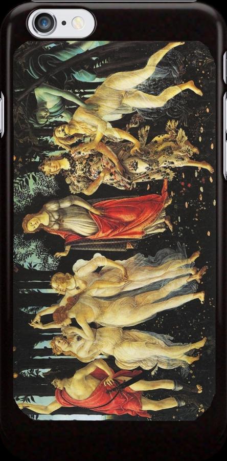 La Primavera di Botticelli -  Allegory of Spring by Ommik
