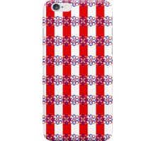Synthflowers red & white iPhone Case/Skin