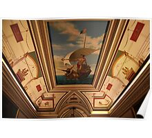 Grand Vaulted Ceiling, Malta Poster