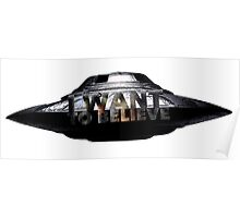 I Want To Believe (UFO) Poster