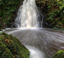 Glenoe Waterfall by MarcoBell