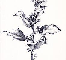 Holly leaf by mansfi