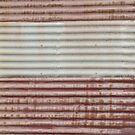 Corrugated Iron III by Joan Wild