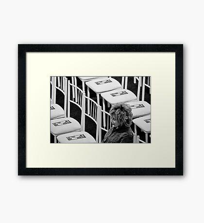 Madness Framed Print
