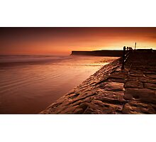 Saltburn Sunrise Photographic Print