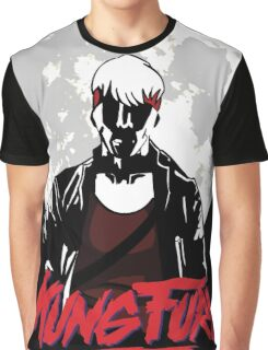 Kung Fury - Moon Graphic T-Shirt