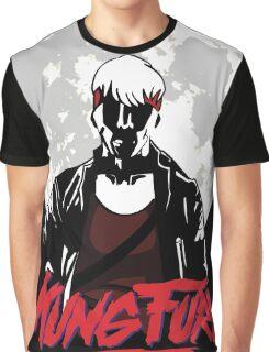 Kung Fury - Moon Graphic T-Shirt