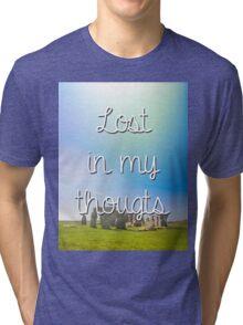 hipster background Tri-blend T-Shirt