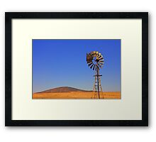 Brown Earth Framed Print