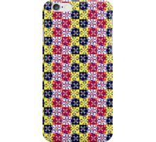 Synthflowers red petals mix iPhone Case/Skin