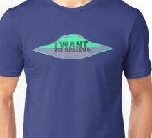 I Want To Believe (UFO II) Unisex T-Shirt