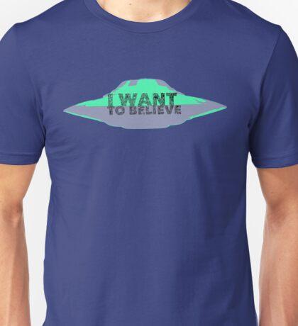 I Want To Believe (UFO II) Unisex T-Shirt