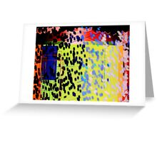Coloured Storm Greeting Card