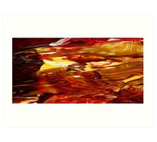 Abstract Colors Oil Painting #50 Art Print