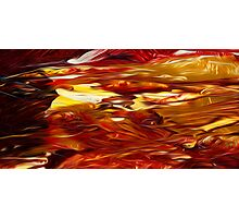 Abstract Colors Oil Painting #50 Photographic Print
