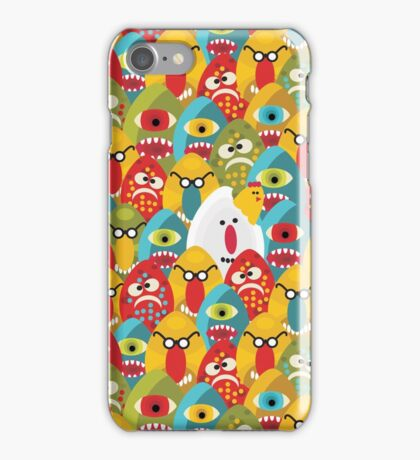 Chicken monster iPhone Case/Skin