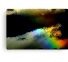 Fighting in the sky. 2 Canvas Print