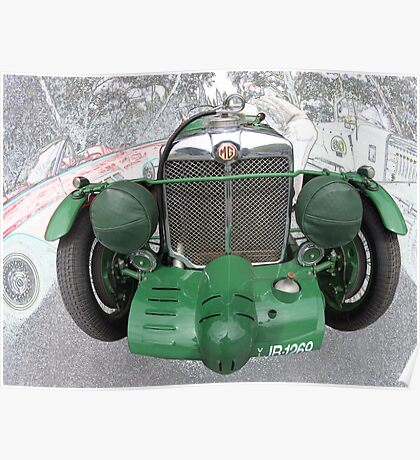 MG K3 1933 Poster