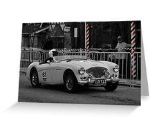 Austin Healey 100 BN2 1955 Greeting Card