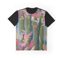 Autumn by a Waterfall Graphic T-Shirt
