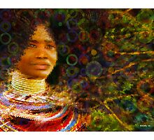 Beautiful African Woman Photographic Print
