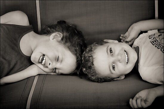 Sibling Revelry : ) by micklyn