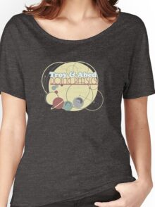 Troy and Abed Doing Physics Women's Relaxed Fit T-Shirt