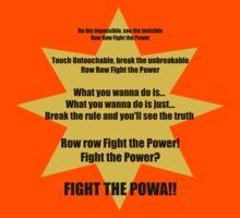 Row Row Fight the Powa by Alessandro Ionni